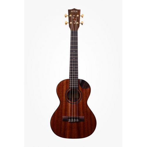 Kala KALA-KA-SMHT-SC Tenor Scallop Cutaway, ukulele tenorowe z pokrowcem, kolor mahoń