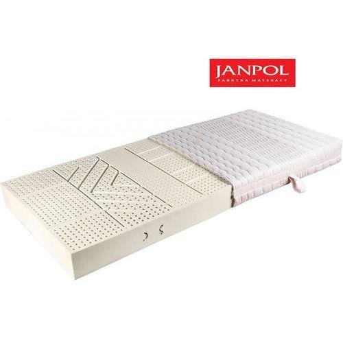 JANPOL VITA - materac lateksowy, piankowy, Rozmiar - 180x200, Pokrowiec - Jersey Standard WYPRZEDAŻ, WYSYŁKA GRATIS