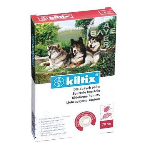 Bayer Kiltix obroża przeciwko pchłom i kleszczom dla psów ras dużych, 66cm
