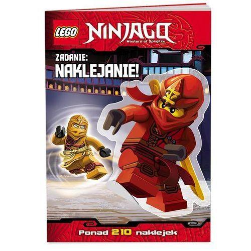 KSIĄŻKA LEGO® Ninjago. Zadanie: naklejanie!