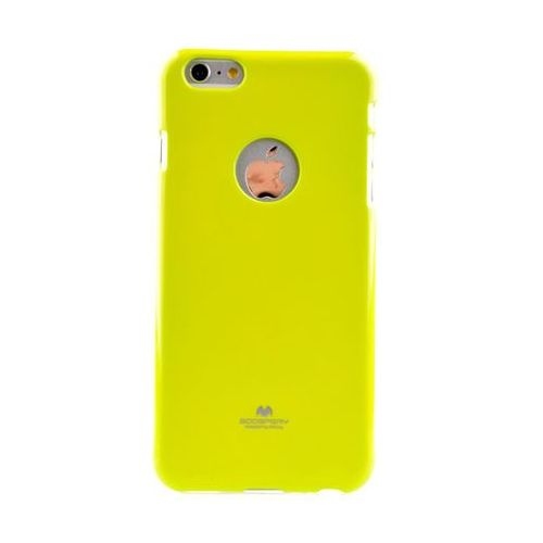 Mercury Etui nakładka goospery jelly case do apple iphone 6 plus / iphone 6s plus limonka (9005613135232)
