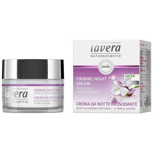 Liftingujący krem na noc - naturalny kwas hialuronowy 50ml marki Lavera