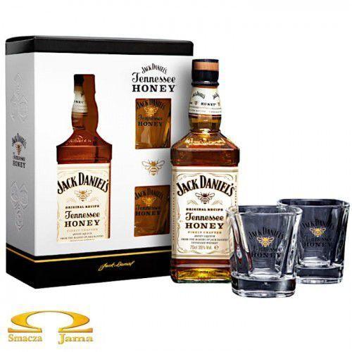 Jack daniel distillery Likier jack daniel's honey 0,7l + 2 szklanki