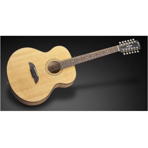 Framus fj 14 smv - vintage transparent satin natural tinted (12-string) gitara akustyczna