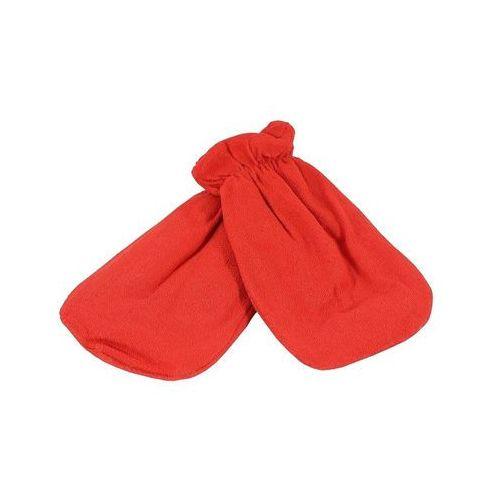 Cosnet Rękawica kosmetyczna frotte czerwony 1 para