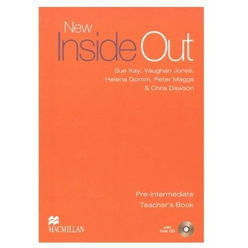 New Inside Out Pre-Intermediate. Książka Nauczyciela + Test CD