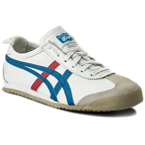 Asics Sneakersy - onitsuka tiger mexico 66 dl408 white/blue 0146