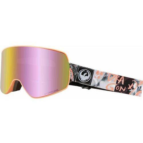 gogle snowboardowe DRAGON - Dr Nfx2 Two Flaunt Llpinkion+Lldksmk (003) rozmiar: OS