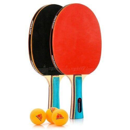 Meteor Zestaw do tenisa stołowego ping-pong 2 rakietki (5900724048034)