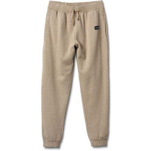 Spodnie dresowe - hookie sweatpants heather tan (heather tan) rozmiar: l marki Diamond