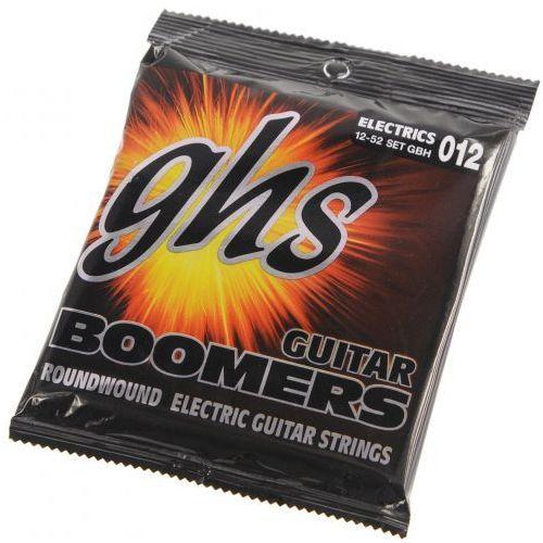 Ghs gbm boomers struny do gitary elektrycznej 12-52