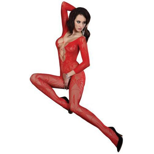 Livia corsetti bodystocking zita red (5907996385386)