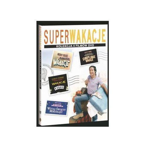 Jeremiah s. chechik, amy heckerling Chevy chase: pakiet super wakacje (4xdvd) - darmowa dostawa kiosk ruchu