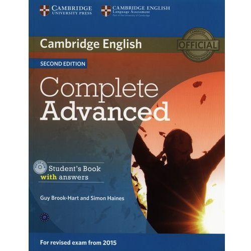 Complete Advanced Students' Book - wyślemy dzisiaj, tylko u nas taki wybór !!! (2014)