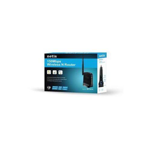 Router Netis DSL WIFI G/N150 + LAN x2, antena 5 dBi WF2414/ DARMOWY TRANSPORT DLA ZAMÓWIEŃ OD 499 zł - produkt z kategorii- Routery i modemy ADSL