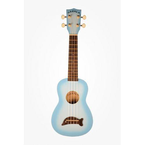 Kala makala ukulele sopranowe light blue burst + non woven bag