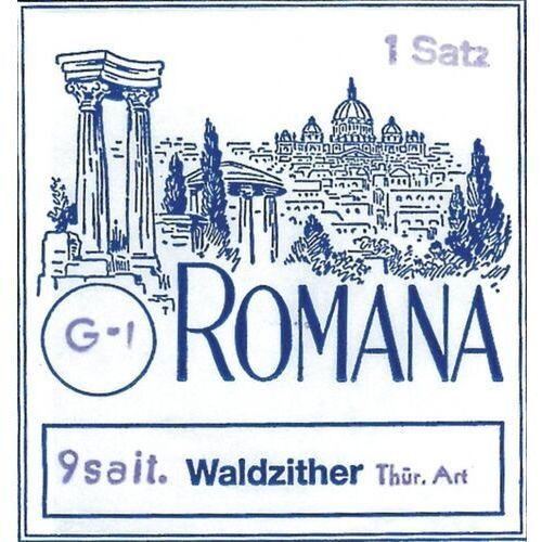 (661256) struny do cytry leśnej - komplet 9-strunowy marki Romana