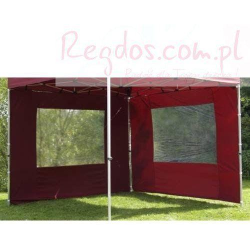 Ścianka do pawilonu bordowa profi 2 szt. 3x3m od REGDOS