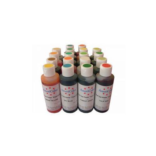 Zestaw 18 farb  Soft Gel Paste (18x133ml), produkt marki AmeriColor