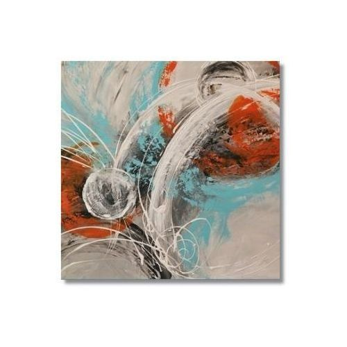 Abstrakcja G2, nowoczesny obraz ręcznie malowany (obraz)