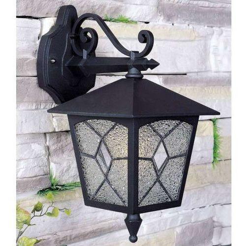 Italux Klasyczna lampa elewacyjna lazio 2541/bkg-13 zewnętrzna oprawa ścienna kinkiet ogrodowy outdoor ip44 czarny złoty