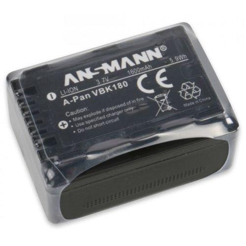 Ansmann Akumulator  do panasonic a-pan vbk 180 (1600 mah) + darmowy transport!