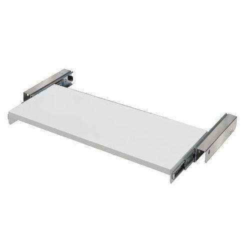 Aj produkty Wysuwana półka do szafy, obciążenie 50 kg, 835x365 mm, biały