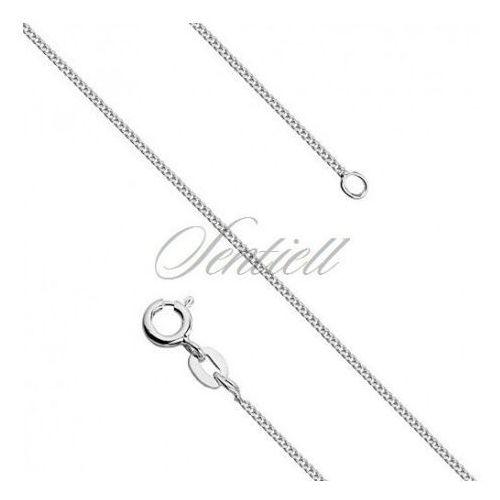 Silver (925) diamond-cut chain - curb Ø 027 - GSD027, GSD027