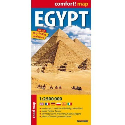 Egypt 1:2 500 000 Laminowana Mapa Samochodowa, oprawa miękka