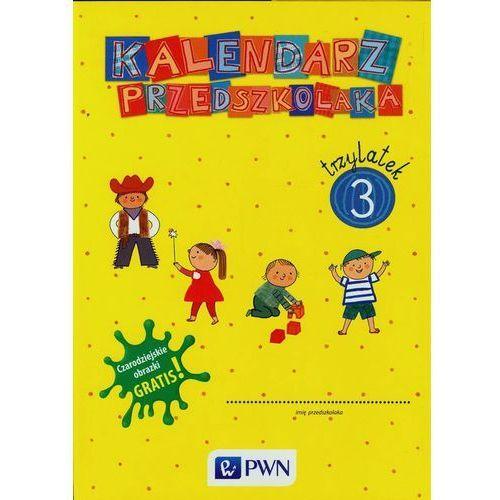 Kalendarz przedszkolaka 3 latek TECZKA, oprawa kartonowa
