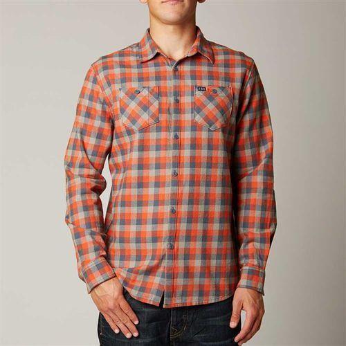 koszule FOX - Robertson Atomic Orange (456) rozmiar: 2X - sprawdź w Snowbitch