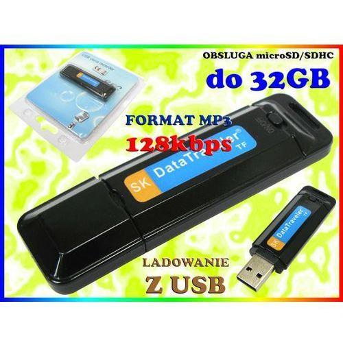 MINI DYKTAFON CYFROWY PODSŁUCH 128kbps MP3 na karty micro SD do 32GB, Sklep Easy-WiFi z Sklep Easy-WiFi