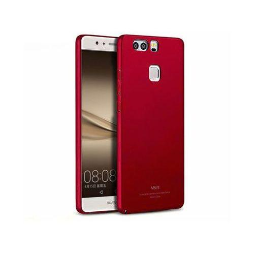 Etui MSVII Thin Case do Huawei P9 czerwone + Szkło 9h - Czerwony, kolor czerwony