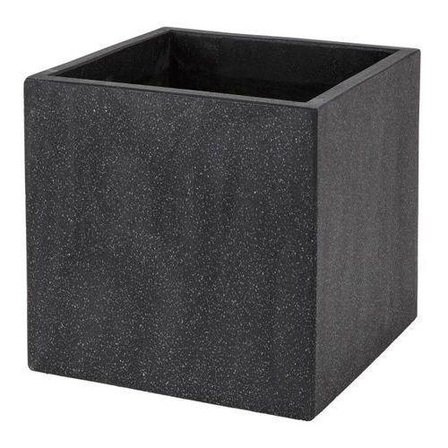 Donica Verve efekt cementu 40 cm antracyt (3663602701514)