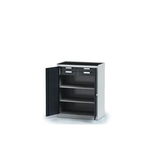 Szafa warsztatowa - 2 półki, 4 szuflady marki Alfa 3