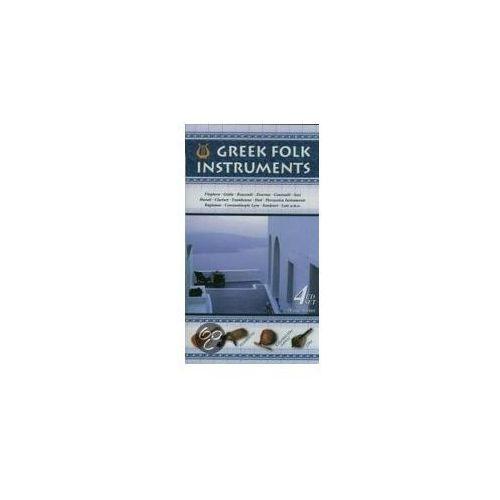 VARIOUS ARTISTS - Greek Folk Instruments (4CD) (4011222226204)