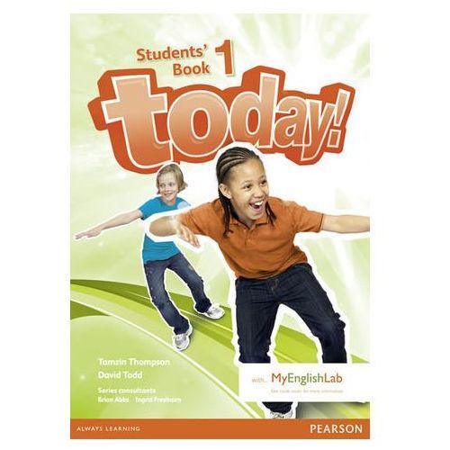 Today! 1. Podręcznik + MyEngLab. Wersja Dla Szkół Językowych (9781447972044)