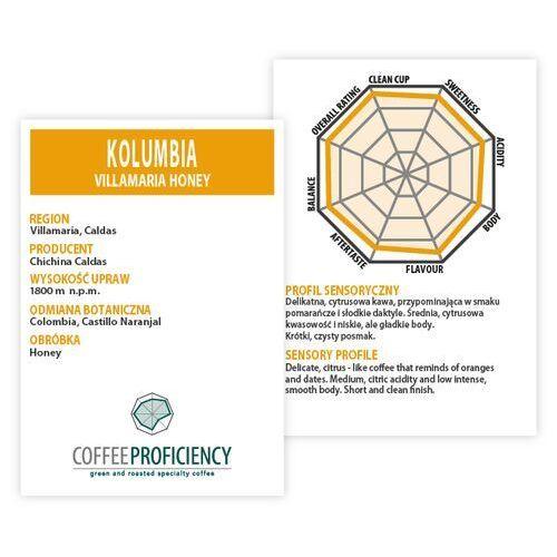 Coffee proficiency kolumbia villamaria 250g