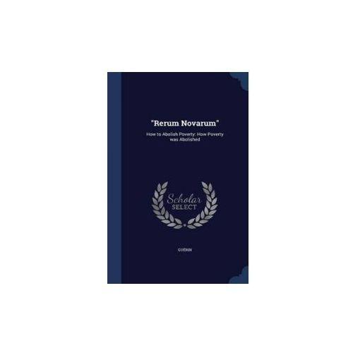 Rerum Novarum (9781340098087)