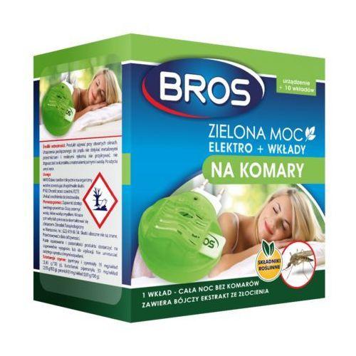 BROS Zielona Moc elektro + wkłady na komary (składniki roślinne)