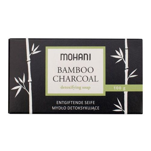 Mohani mydło detoksykujące z aktywnym węglem bambusowym 100g (5902802720481)