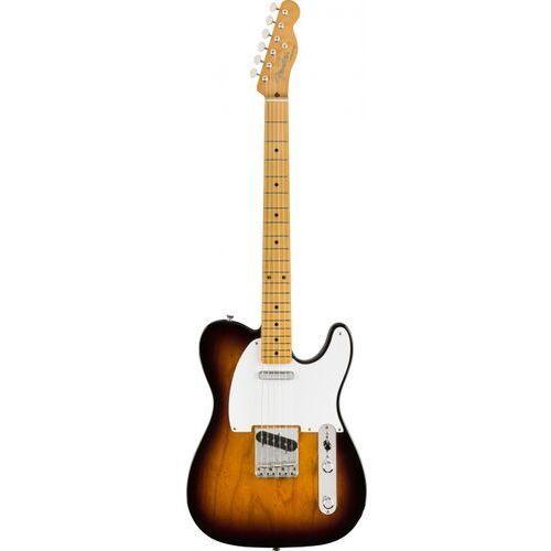 vintera 50s telecaster mn 2-color sunburst gitara elektryczna marki Fender