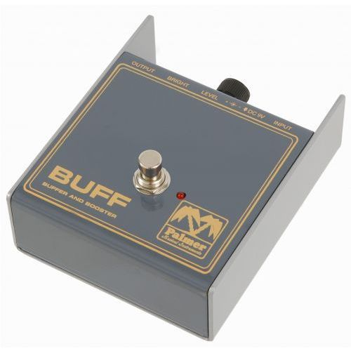 pebuff mi buff - buffer and booster pedal efekt gitarowy marki Palmer