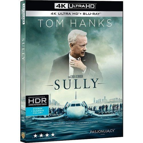 Sully (4K Ultra HD) (Blu-ray) - Clint Eastwood DARMOWA DOSTAWA KIOSK RUCHU