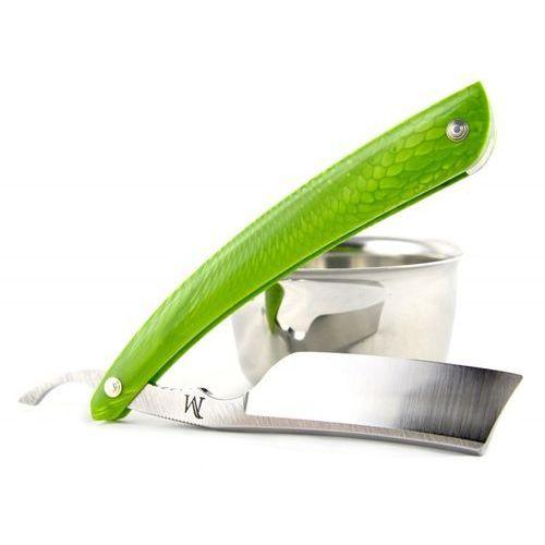 Brzytwa koraat-knives 7/8 juma green mamba, wklęsłość near wedge, kolczasty grzbiet marki Koraat-knives, austria