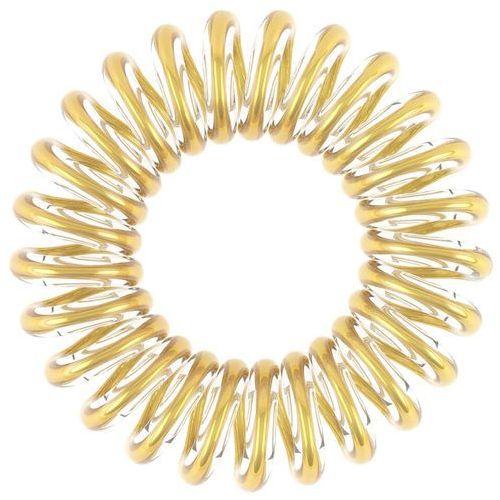 the traceless hair ring gumka do włosów 3 szt dla kobiet you´re golden marki Invisibobble