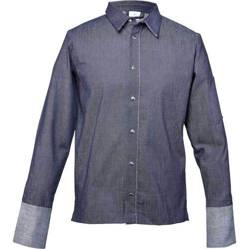 Bluza kucharska z jeansu niebieska rozmiar l marki Stalgast