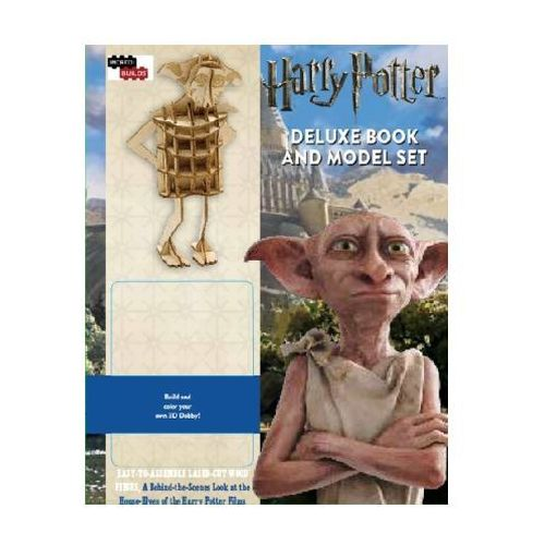 Harry Potter: House-Elves Deluxe Book and Model Set Warner Brothers Studio (9781783707072)