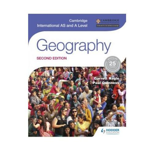 Geography. Second Edition. Cambridge International As and A Level, oprawa miękka