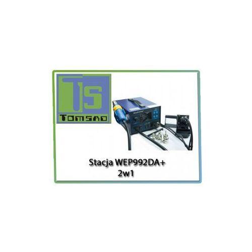 Stacja lutownicza WEP 992DA+ 2 w 1 + wyciąg oparów